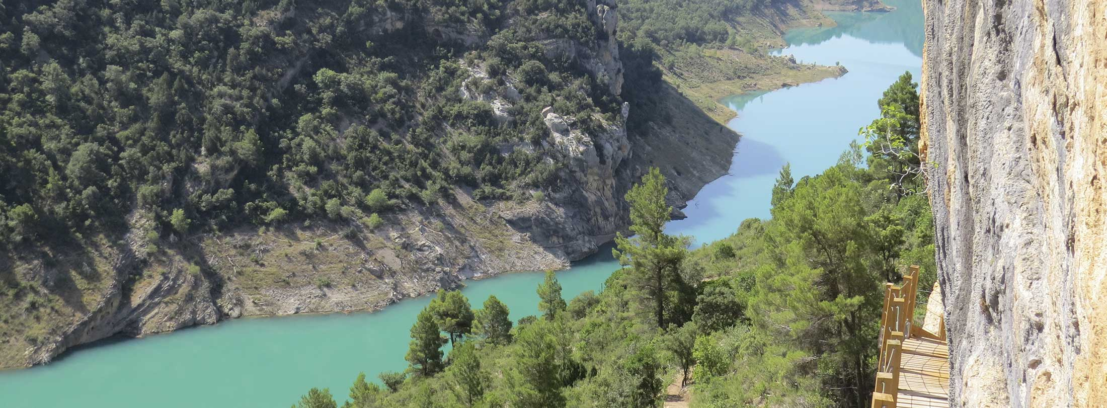 Ruta por la sierra del Montsec: Congost de Mont-rebei - Montfalcó